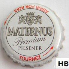 Coleccionismo de cervezas: TAPÓN CORONA - CHAPA - ALEMANIA - CERVEZA - MATERNUS PREMIUM PILSENER - AÑO 2008 - TAPÓN DE GIRAR. Lote 143544914