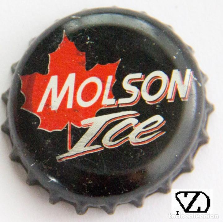 TAPÓN CORONA - CHAPA - CANADÁ - CERVEZA - MOLSON ICE (Coleccionismo - Botellas y Bebidas - Cerveza )