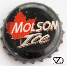 Coleccionismo de cervezas: TAPÓN CORONA - CHAPA - CANADÁ - CERVEZA - MOLSON ICE. Lote 143659406