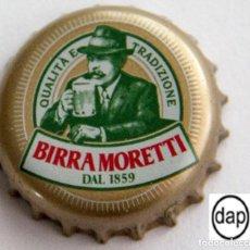 Coleccionismo de cervezas: TAPÓN CORONA - CHAPA - ITALIA - CERVEZA - MORETTI. Lote 143660086