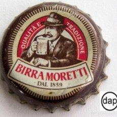 Coleccionismo de cervezas: TAPÓN CORONA - CHAPA - ITALIA - CERVEZA - MORETTI. Lote 143660122