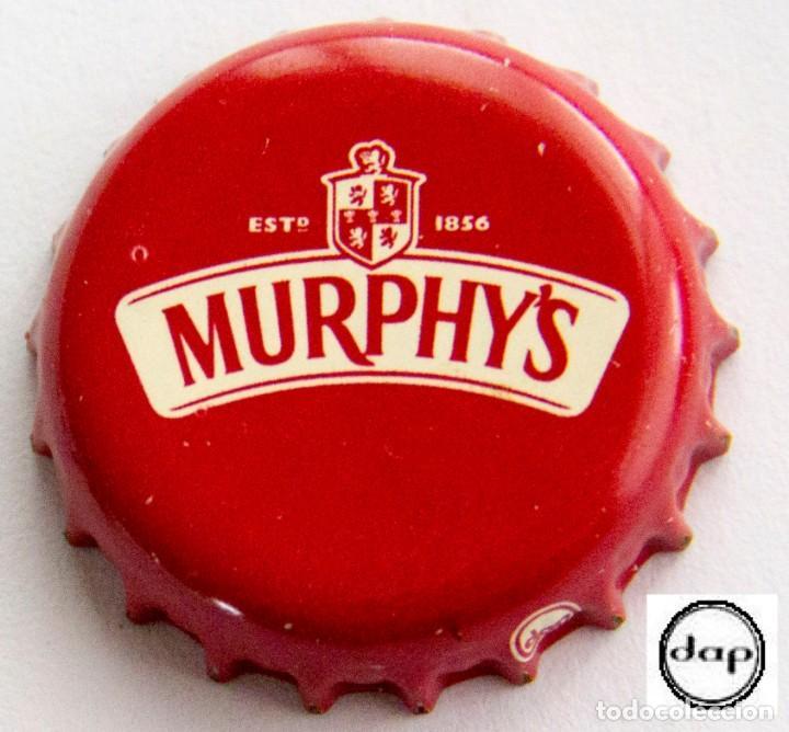 TAPÓN CORONA - CHAPA - IRLANDA - CERVEZA - MURPHY'S - ROJO OSCURO (Coleccionismo - Botellas y Bebidas - Cerveza )