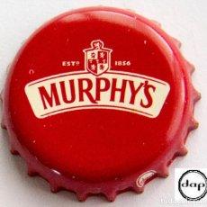 Coleccionismo de cervezas: TAPÓN CORONA - CHAPA - IRLANDA - CERVEZA - MURPHY'S - ROJO OSCURO. Lote 143740010
