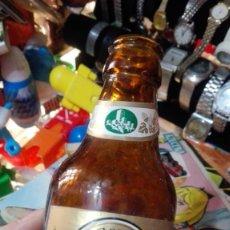 Coleccionismo de cervezas: ANTIGUO BOTELLIN CERVEZA EL ALCAZAR JAEN. Lote 143789070