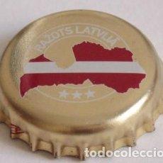 Coleccionismo de cervezas - CHAPA CERVEZA DE LETONIA - 144527350