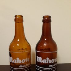 Coleccionismo de cervezas: BOTELLAS CERVEZA MAHOU 33CL. Lote 144590080