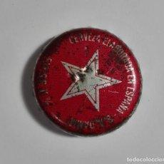 Coleccionismo de cervezas: ANTIGUO TAPÓN CORONA CERVEZA DAMM ELABORADO EN ESPAÑA. Lote 145432234