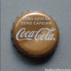 Coleccionismo de cervezas: CHAPA COCA COLA ZERO AZÚCAR ZARO CAFEÍNA. Lote 145901269