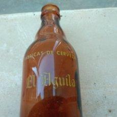 Coleccionismo de cervezas: BOTELLA DE CERVEZA EL AGUILA ESPECIAL - DECLARADA EMPRESA MODELO - LEER DESCRIPCIÓN -. Lote 146132149