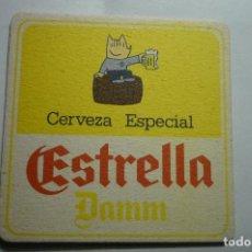 Coleccionismo de cervezas: POSAVASOS CARTON DURO CERVEZA ESTRELLA. Lote 146297926