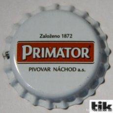 Coleccionismo de cervezas: TAPÓN CORONA - CHAPA - REFRESCO - CERVEZA - REPÚBLICA CHECA - PRIMATOR - SIN CERRAR. Lote 146403962