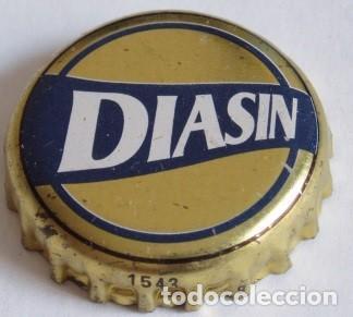CHAPA CERVEZA DIASIN, FACTORIA HB (Coleccionismo - Botellas y Bebidas - Cerveza )