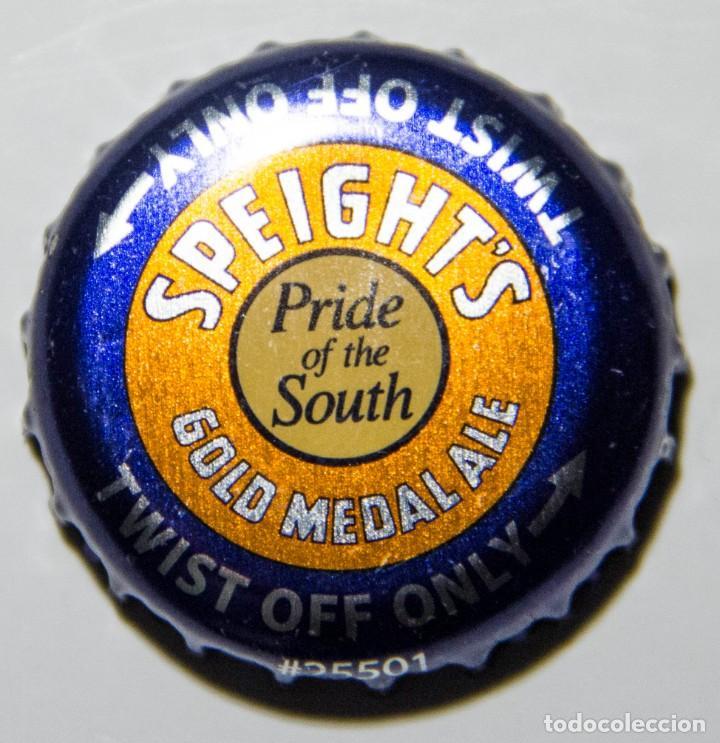 TAPÓN CORONA - CHAPA - NUEVA ZELANDA - CERVEZA SPEIGHT'S GOLD MEDAL ALE - TAPÓN DE GIRAR (Coleccionismo - Botellas y Bebidas - Cerveza )