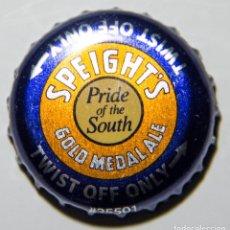 Coleccionismo de cervezas: TAPÓN CORONA - CHAPA - NUEVA ZELANDA - CERVEZA SPEIGHT'S GOLD MEDAL ALE - TAPÓN DE GIRAR. Lote 146684582