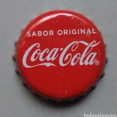 Coleccionismo de cervezas: CHAPA COCA COLA SABOR ORIGINAL. Lote 146694830