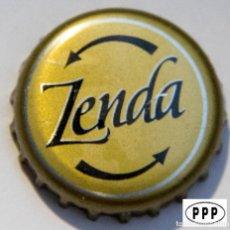 Coleccionismo de cervezas: TAPÓN CORONA - CHAPA - PERÚ - CERVEZA - ZENDA - TAPÓN DE GIRAR - AÑO 2008. Lote 147220566