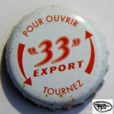 Coleccionismo de cervezas: TAPÓN CORONA - CHAPA - FRANCIA - CERVEZA - 33 EXPORT - TAPÓN DE GIRAR. Lote 147227738