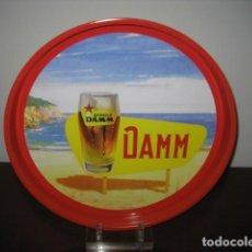 Coleccionismo de cervezas: BANDEJA METALICA CERVEZA. CERVEZAS ESTRELLA DAMM. Lote 147760882