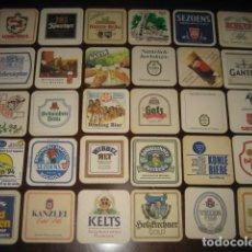 Coleccionismo de cervezas: 30 POSAVASOS DE CERVEZA DIFERENTES. Nº1. Lote 147763066