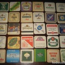 Coleccionismo de cervezas: 30 POSAVASOS DE CERVEZA DIFERENTES. Nº3. Lote 147763362