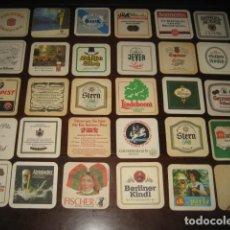 Coleccionismo de cervezas: 30 POSAVASOS DE CERVEZA DIFERENTES. Nº8. Lote 147763890