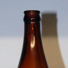 Coleccionismo de cervezas: ANTIGUA BOTELLA CERVEZA SAN MIGUEL FABRICADA EN HONG KONG. Lote 148163030