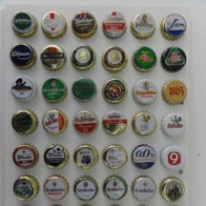 Coleccionismo de cervezas: 48 CHAPAS USADAS CERVEZAS ALEMANAS (ALEMANIA 4). Lote 148174438