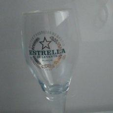 Coleccionismo de cervezas: COPA VASO CERVEZA ESTRELLA DE LEVANTE MURCIA. Lote 285538413