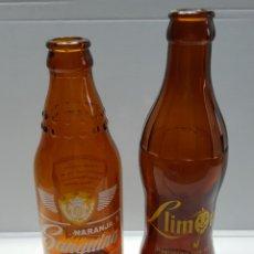 Coleccionismo de cervezas: BOTELLAS DE REFRESCO LIMONET Y SANGUINA MUY ESCASAS. Lote 228476080