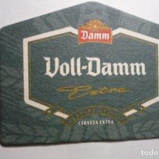 Coleccionismo de cervezas: POSAVASOS CARTON DURO VOLL DAMM EXTRA. Lote 149923546