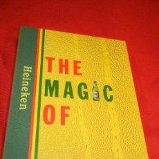 Coleccionismo de cervezas: THE MAGIC OF HEINEKEN - 2001. Lote 150244078