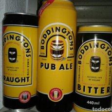 Coleccionismo de cervezas: LOTE DE LATAS DE CERVEZA BODDINGTON'S. Lote 150344104