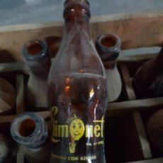 Coleccionismo de cervezas: CAJA ANTIGUA REFRESCOS LIMONET 24 BOTELLAS. Lote 165708934