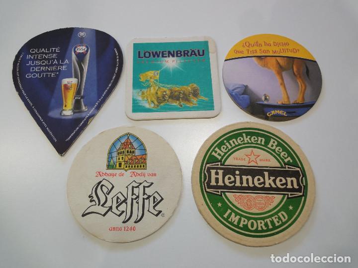 BONITO LOTE DE POSAVASOS. CERVEZAS (Coleccionismo - Botellas y Bebidas - Cerveza )