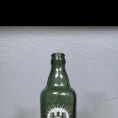 Coleccionismo de cervezas: BOTELLA CERVEZA TERCIO EL AGUILA NEGRA. BOTELLIN. Lote 151059534
