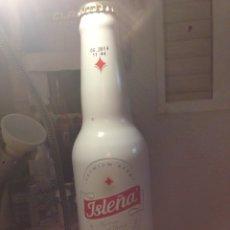 Coleccionismo de cervezas: BOTELLA DE CERVEZA ISLEÑA. Lote 151433244