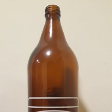 Coleccionismo de cervezas: BOTELLA CERVEZA MORITZ LITRO. Lote 151440484