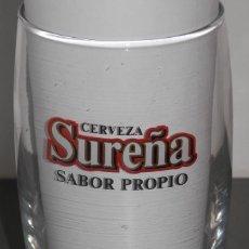 Coleccionismo de cervezas: VASO DE LA CERVEZA SUREÑA. Lote 151449242