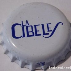 Coleccionismo de cervezas: CHAPA CERVEZA ARTESANA LA CIBELES, FACTORIA TCI. Lote 151452034
