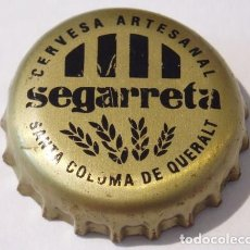 Coleccionismo de cervezas: CHAPA CERVEZA ARTESANA SEGARRETA. Lote 151452446
