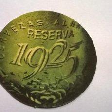 Coleccionismo de cervezas: POSAVASO CERVEZA ALHAMBRA. Lote 151890730