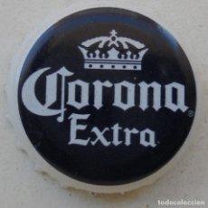 Coleccionismo de cervezas: CHAPA CERVEZA CORONA EXTRA MEXICO DF LPVC FABRICANTE -Z-. Lote 152346642