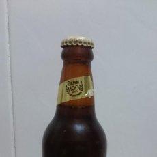 Coleccionismo de cervezas: BOTELLA CERVEZA ESTRELLA DORADA 100 AÑOS CON CHAPA Y LIQUIDO ORIGINAL. Lote 152576614