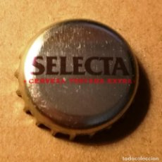 Coleccionismo de cervezas: CHAPA CERVEZA SAN MIGUEL SELECTA. Lote 154434974