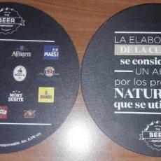 Coleccionismo de cervezas: POSAVASOS CERVEZA. Lote 154464750
