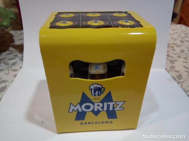 Coleccionismo de cervezas: SEVILLETERO DE PUBLICIDAD MORITZ - Foto 3 - 154696046