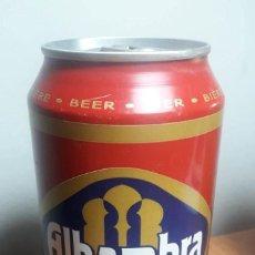 Coleccionismo de cervezas: LATA CERVEZA 33 CL. ALHAMBRA ESPECIAL. PRIMER MODELO. Lote 157221530