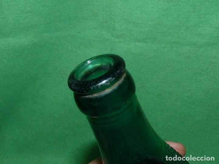 Coleccionismo de cervezas: DIFICIL Y BUSCADA BOTELLA CERVEZA EL LEON VERDE OSCURO FRIO INDUSTRIAL GRAN RAREZA SAN SEBASTIAN - Foto 9 - 157973310