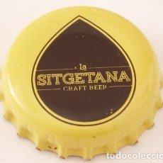 Collectionnisme de bières: CHAPA CERVEZA ARTESANA LA SITGETANA. Lote 158943222