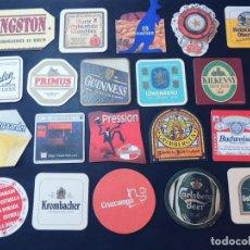 Coleccionismo de cervezas: 120 POSAVASOS CERVEZA / VER FOTOGRAFÍAS. Lote 160669150